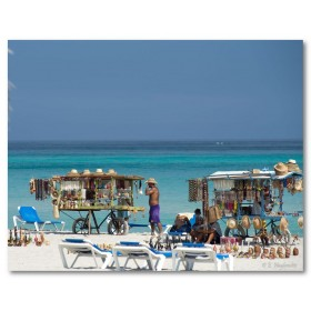 Αφίσα (Varadero, παραλία, θάλασσα, πώληση, παραλία, καλοκαίρι)
